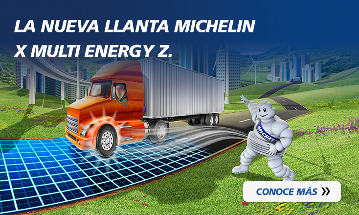 La nueva llanta MICHELIN® X® Multi™ ENERGY Z